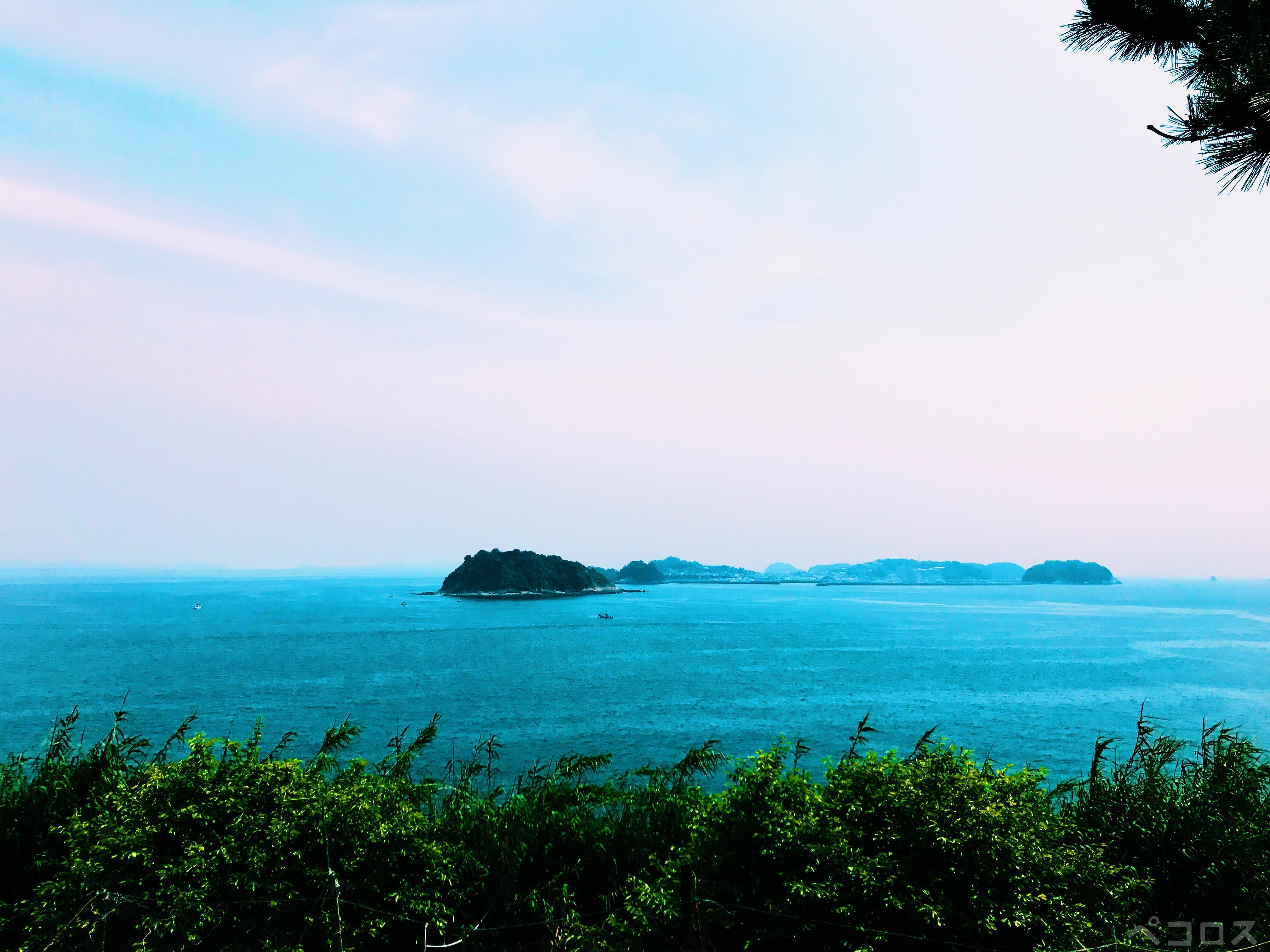 愛知県 日間賀島の海